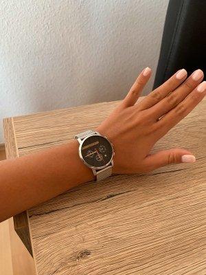 Esprit Horloge met metalen riempje grijs