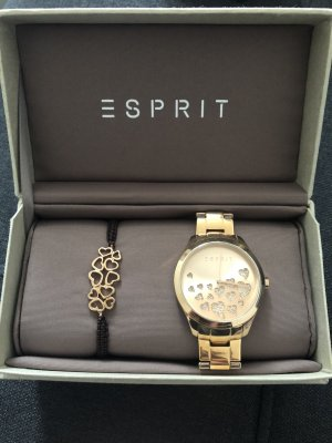 esprit collection Watch With Metal Strap gold-colored