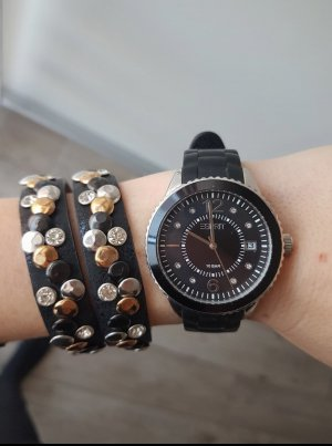 Esprit Uhr Armbanduhr schwarz