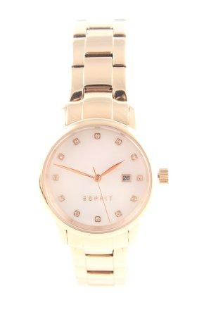 Esprit Horloge met metalen riempje goud zakelijke stijl