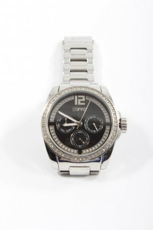Esprit Watch With Metal Strap silver-colored casual look