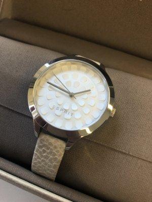 Esprit Reloj con pulsera de cuero multicolor