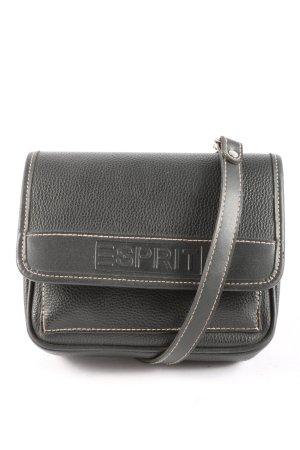Esprit Umhängetasche schwarz Motivdruck Casual-Look