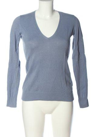 Esprit V-Neck Sweater blue casual look