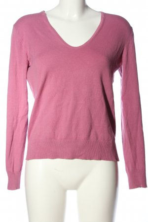 Esprit V-Neck Sweater pink casual look