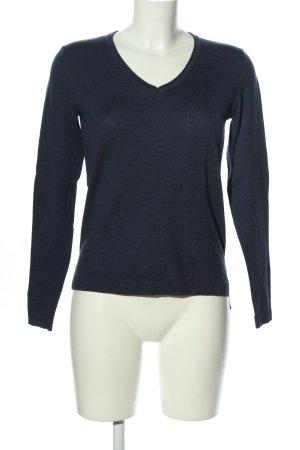 Esprit V-Ausschnitt-Pullover blau Casual-Look