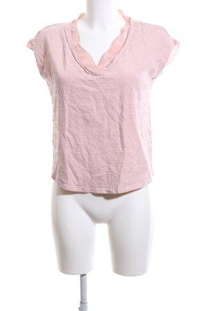 Esprit V-Ausschnitt-Shirt pink Casual-Look