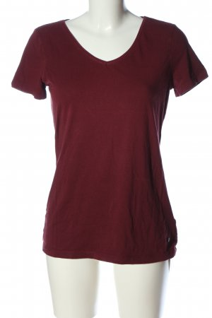 Esprit V-Neck Shirt red casual look