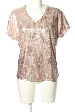 Esprit V-Ausschnitt-Shirt creme Casual-Look