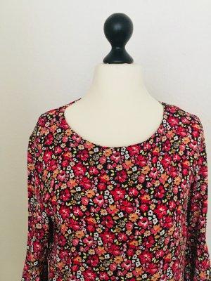 Esprit: Viskosekleid, Midikleid, Tulpenärmel, kein Polyester!!