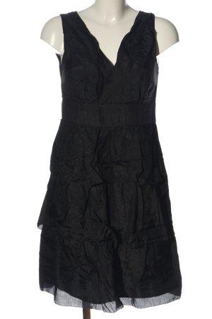 Esprit Sukienka z falbanami czarny W stylu casual