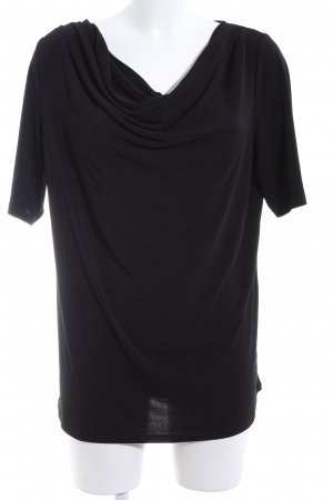 Esprit Cowl-Neck Shirt black casual look