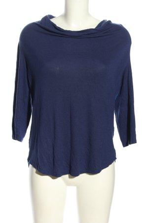 Esprit Koszulka z dekoltem woda niebieski W stylu casual