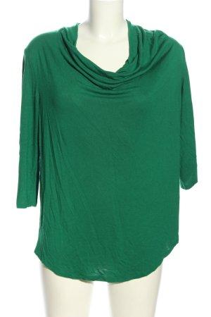 Esprit Koszulka z dekoltem woda zielony W stylu casual