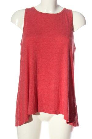 Esprit Top cut out rojo look casual