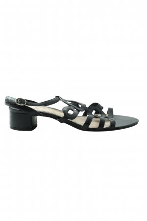 Esprit Wedges Sandaletten schwarz Casual-Look