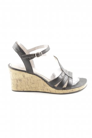 Esprit Wedge Sandals black elegant
