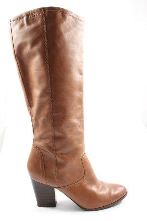 Esprit Botas de pantorrilla ancha marrón elegante