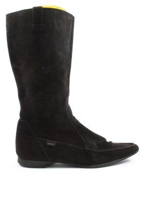 Esprit Wysokie kozaki czarny W stylu casual