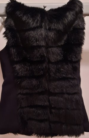 Esprit Fake Fur Vest black