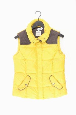 Esprit Weste gelb Größe 40