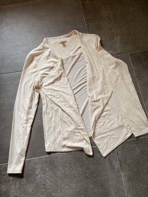 Esprit Kurtka o kroju koszulki kremowy