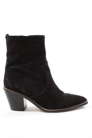 Esprit Botki w stylu western czarny W stylu casual