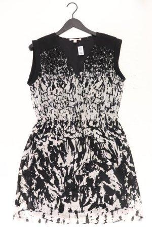 Esprit Wickelkleid Größe 40 schwarz aus Polyester