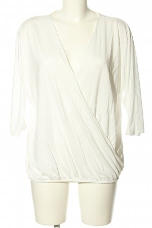 Esprit Wraparound Shirt white casual look