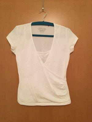 ESPRIT Wickelshirt T-Shirt, Gr. M