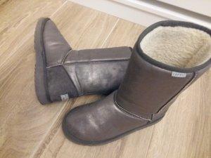 Esprit Winter Boots in Metalic