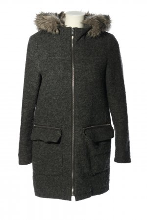 Esprit Winterjacke schwarz meliert Casual-Look