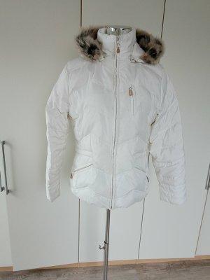 Esprit Kurtka zimowa w kolorze białej wełny