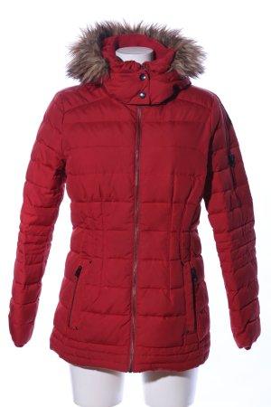Esprit Winterjacke rot Steppmuster Casual-Look