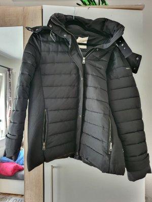 Esprit Kurtka zimowa czarny-srebrny