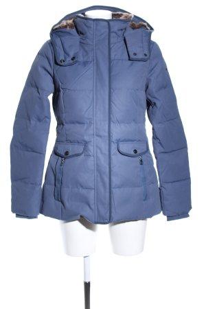 Esprit Winterjacke blau Steppmuster Casual-Look