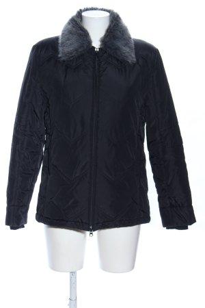 Esprit Kurtka zimowa czarny Pikowany wzór W stylu casual