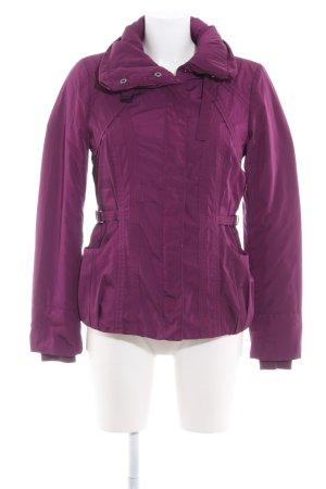Esprit Winterjacke violett-silberfarben Casual-Look