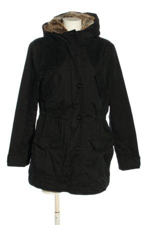 Esprit Wintermantel schwarz schlichter Stil