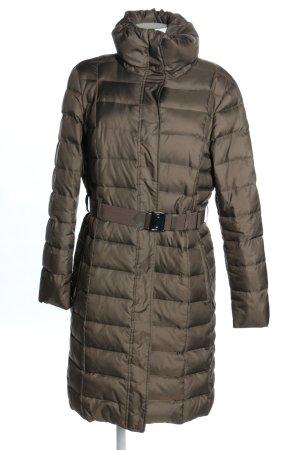 Esprit Cappotto invernale marrone motivo trapuntato stile casual