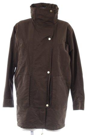 Esprit Abrigo de invierno marrón oscuro estilo clásico