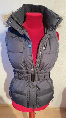 Esprit Hooded Vest dark blue