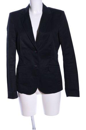 Esprit Woll-Blazer schwarz Business-Look