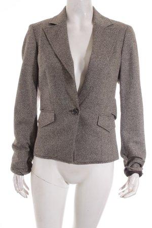 Esprit Woll-Blazer dunkelbraun-hellbeige Business-Look
