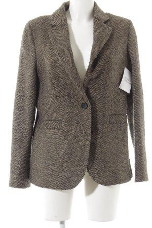 Esprit Blazer de lana diseño de espiga estilo clásico