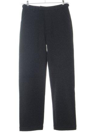 Esprit Pantalone di lana nero stile casual