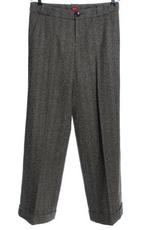Esprit Pantalon en laine gris clair moucheté style d'affaires