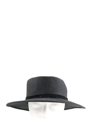 Esprit Sombrero de lana gris claro moteado look casual