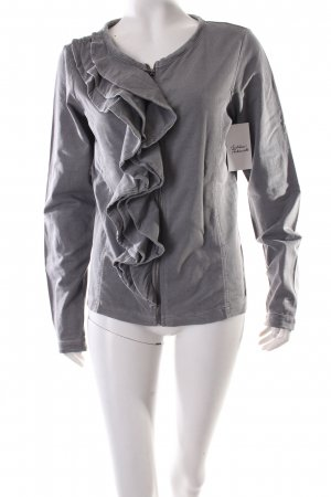 Esprit Wolljacke dunkelgrau-grau extravaganter Stil