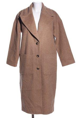 Esprit Abrigo de lana marrón look casual